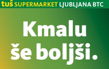 Prenavljamo Tuš supermarket Ljubljana BTC