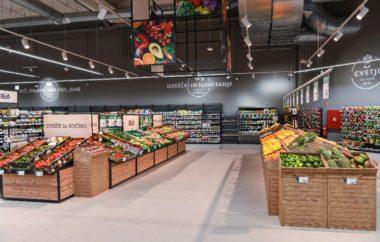 Prenovljen TUŠ supermarket Ljubljana BTC  tudi s spletnim supermarketom Hitri Nakup