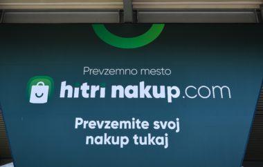 Tušev spletni supermarket hitrinakup.com že z 22 prevzemnimi mesti