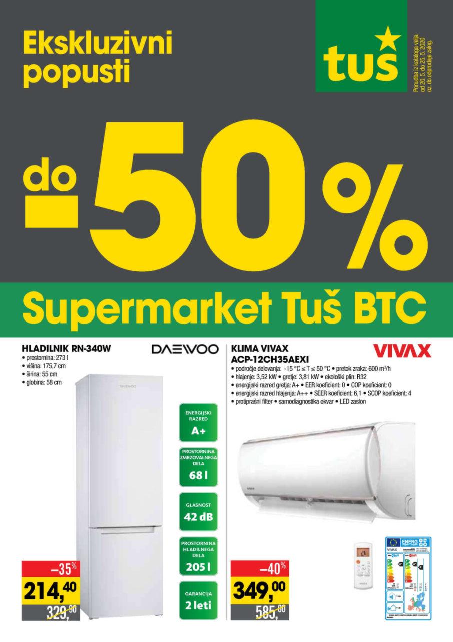 Akcijski katalog Tuš supermarket Ljubljana BTC
