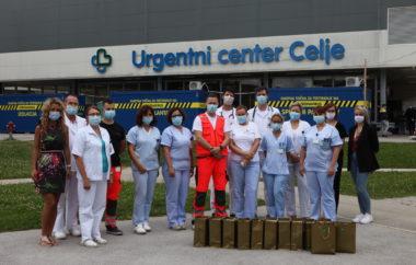Obdarili smo naše zdravstvene delavce