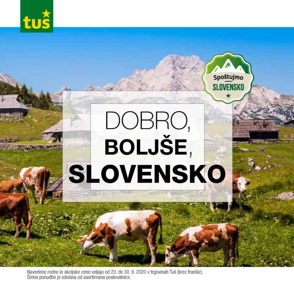 Dobro, boljše, slovensko