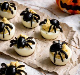 Strašljiva jajčka s pajki