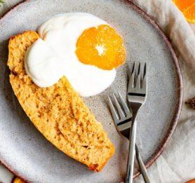 Enostaven pomarančni kolač