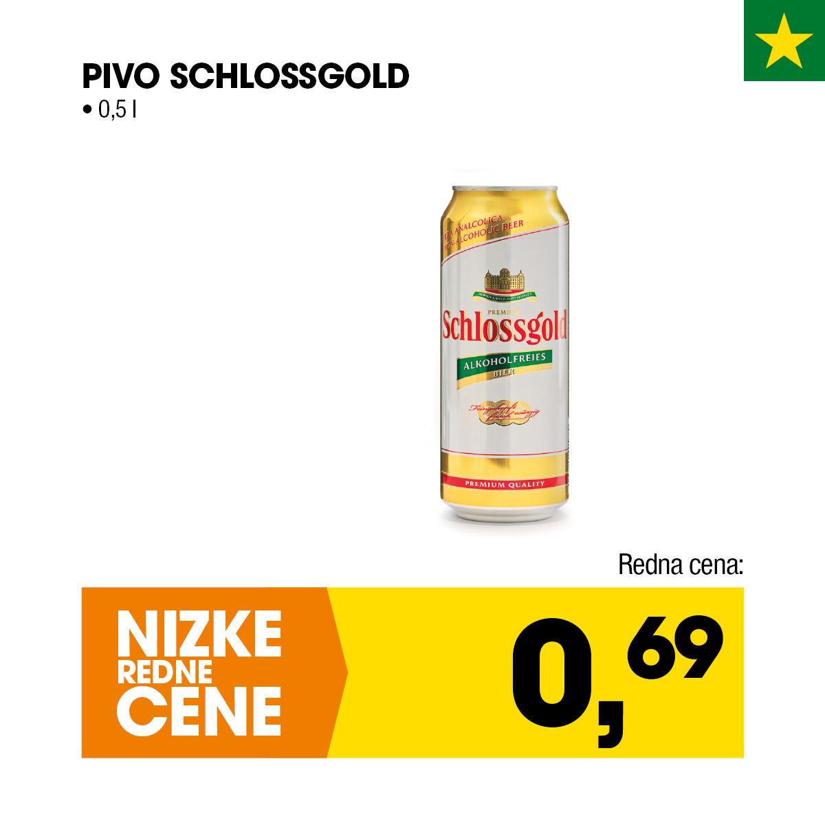 Nizke cene - Pivo Schlossgold