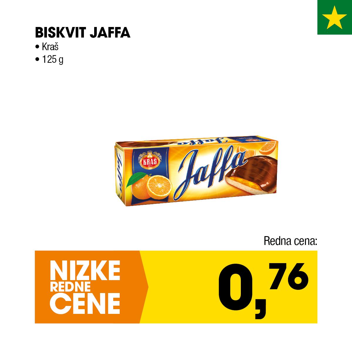Nizke cene - Biskvit Jaffa