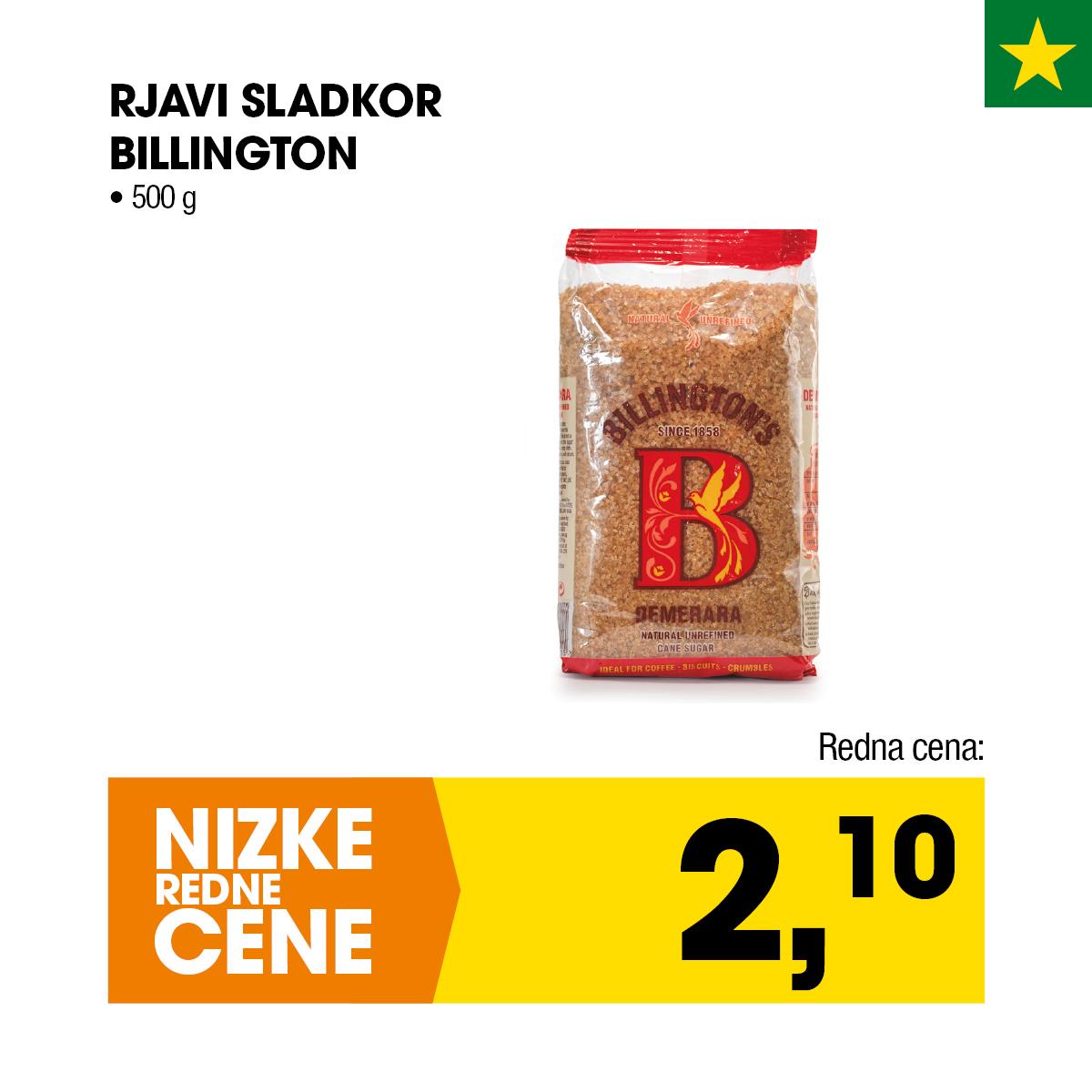 Nizke cene - Rjavi sladkor Billington