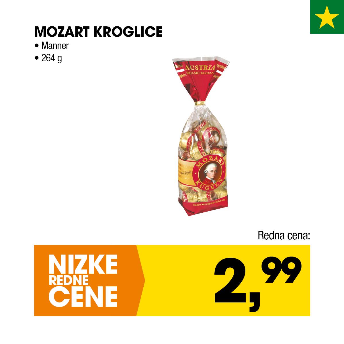 Mozart kroglice Manner