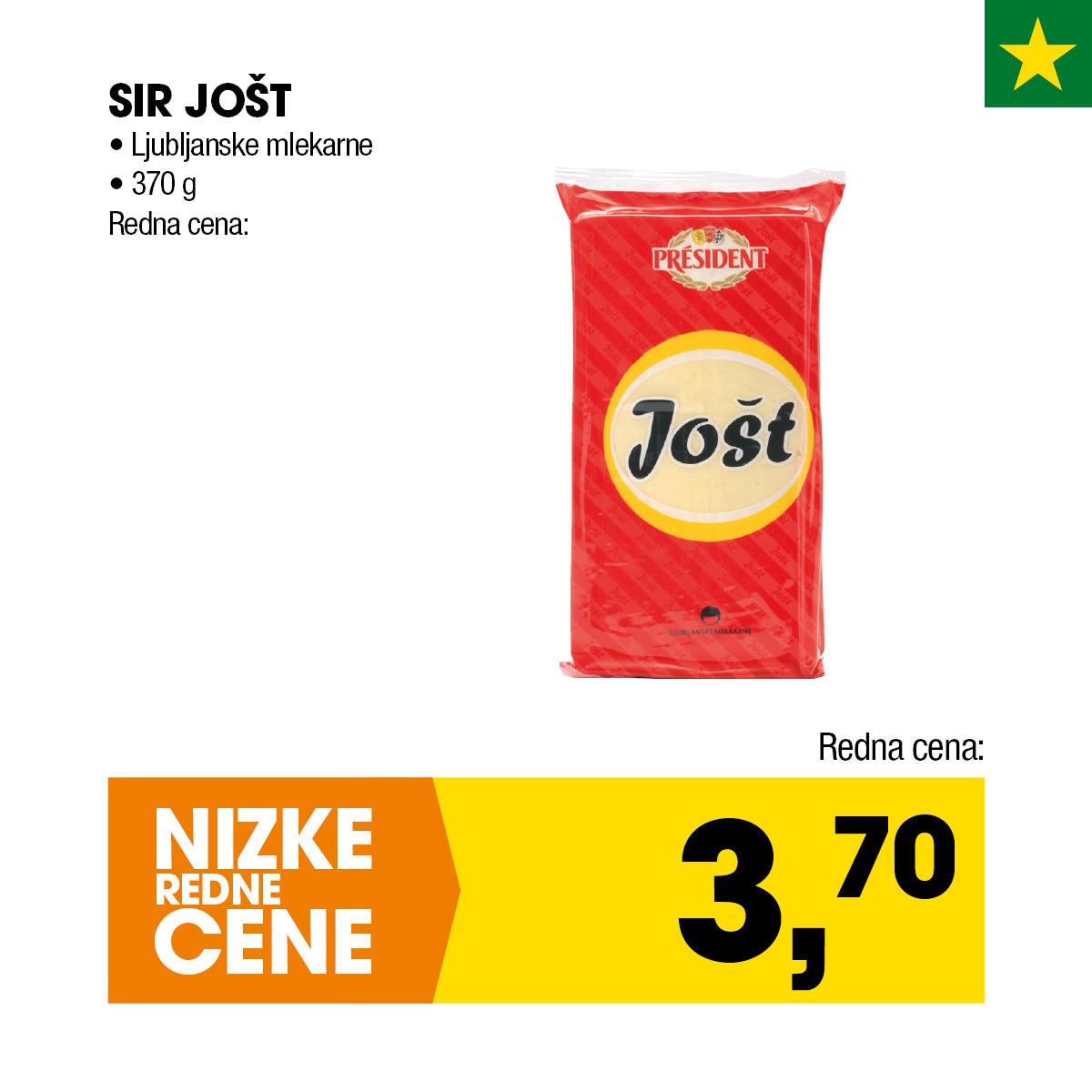 Nizke cene - Sir Jošt