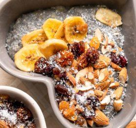 Veganski bananin chia puding