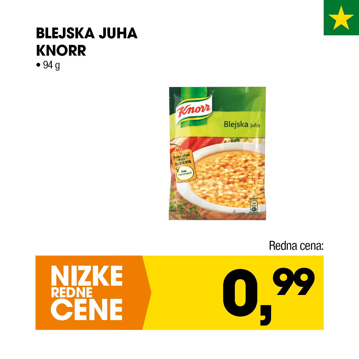 Blejska juha Knorr