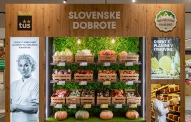 Tuš krepi sodelovanje z zadrugami in ponuja še več slovenskih izdelkov
