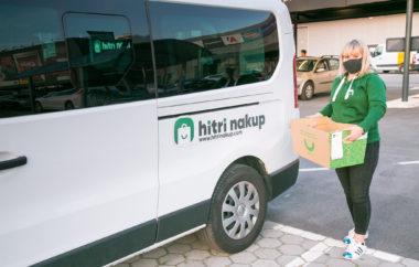 Dostava Tuševega spletnega supermarketa odslej tudi v Kopru, Kranju in Novem mestu