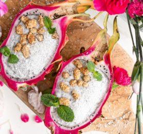 Pitajino-kokosov chia puding