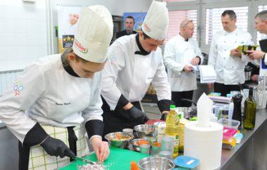 Z zadnjim predtekmovanjem Tuševa zvezdica izbrala še 3 najboljše mlade gostinsko-turistične ekipe