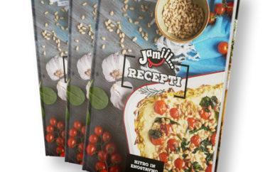 Nova knjiga receptov Jamiii