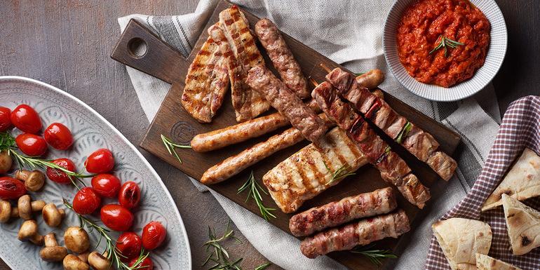 recept Balkanska plošča