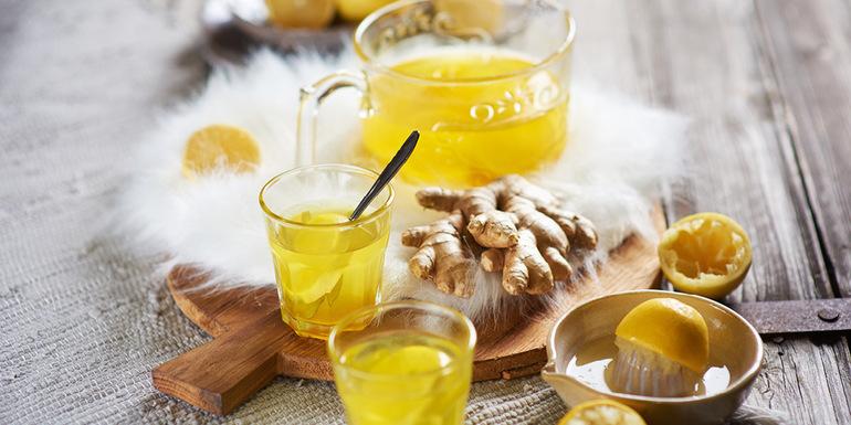 recept Jutranja vroča limonada