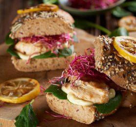 Poletni sendviči s piščancem