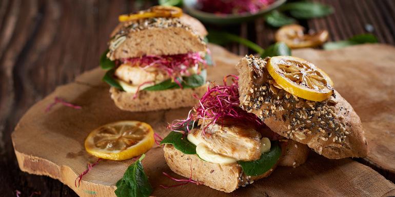 recept za poletni sendviči s piščancem