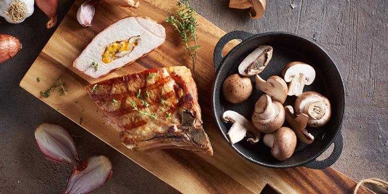 recept za Polnjen svinjski kotlet