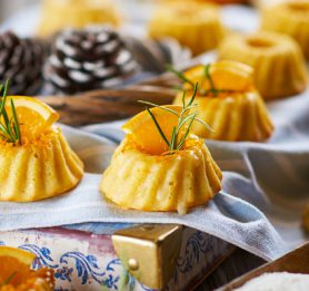Pomarančni mini kolački