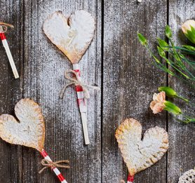 Valentinove pite na palčkah
