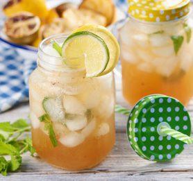 Gin limonada z žara