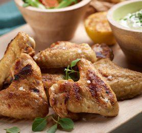 Piščančje perutničke z gorgonzolo