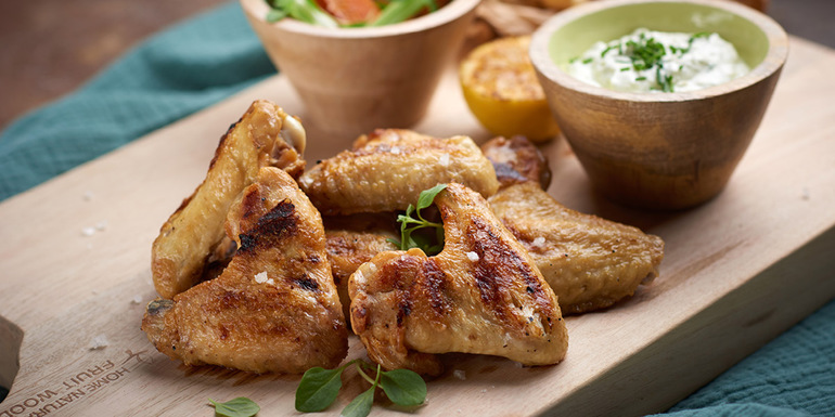 recept za Piščančje perutničke z gorgonzolo