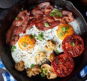 Zajtrk na žaru