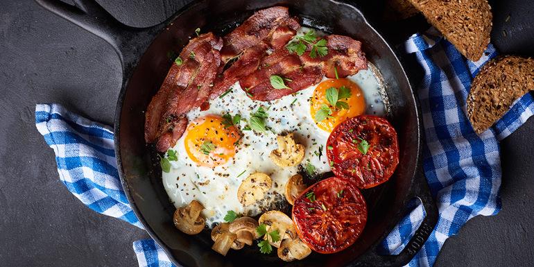 Žar recepti, Zajtrk na žaru