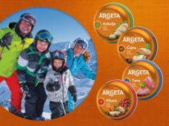 Zimske radosti z Argeto