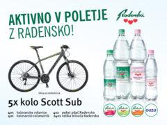 Aktivno v poletje z Radensko