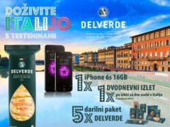 Doživite Italijo s testeninami Delverde
