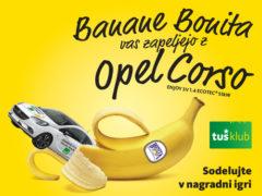 Banane Bonita vas zapeljejo z Opel Corso