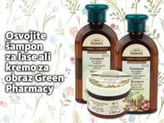 Osvojite šampon za lase ali kremo za obraz Green Pharmacy