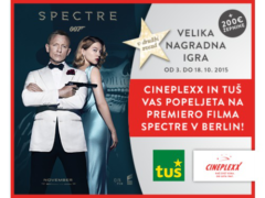 Premiera filma Spectre v Berlinu