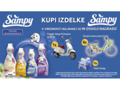 SAMPY nagradna igra v Tušu