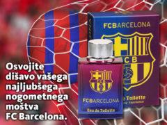 Osvojite dišavo vašega najljubšega nogometnega moštva FC Barcelona