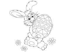 Pobarvaj velikonočnega zajčka in osvoji svojo najljubšo igračko