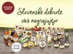 Slovenske dobrote vas nagrajujejo
