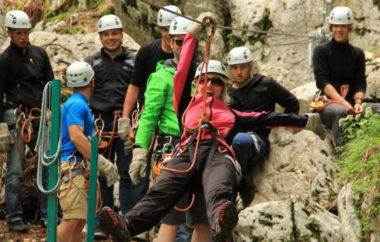 Adrenalinska doživetja na Soči