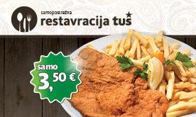 Super ugodna ponudba februarja v Restavraciji Tuš Maribor