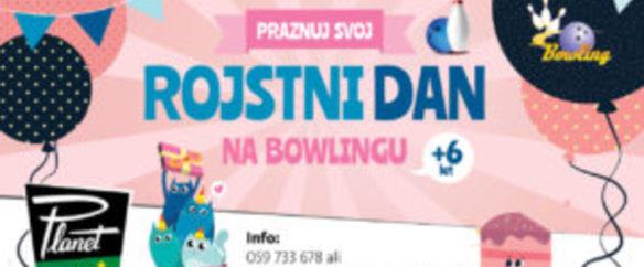 Rojstni dan na bowlingu Kranj