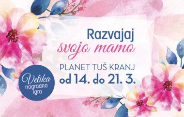 Razvajaj svojo mamo v Planetu Tuš Kranj