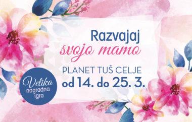 Razvajaj svojo mamo v Planetu Tuš Celje