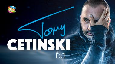 Tony Cetinski / Disco Planet Kranj / sobota, 13.4. / 22h / 18+