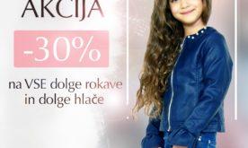 Znižanje v otroški trgovini Blukids