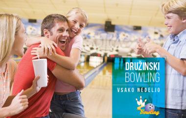 Družinski bowling vsako nedeljo